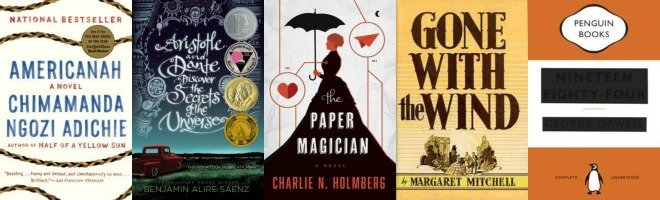5 books that are on top of my TBR list